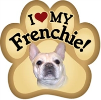 French Bulldog Paw Magnet for Car or Fridge