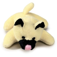 "Plush Cat ""Miss Kitty"" Dog Toy at SaltyPaws.com"