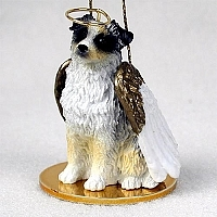 Australian Shepherd Angel Ornament