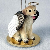 Labrador Retriever Angel Ornament