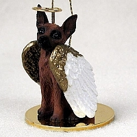 Miniature Pinscher Angel Ornament