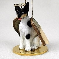 Rat Terrier Angel Ornament