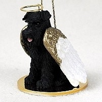 Schnauzer Angel Ornament