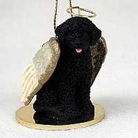 Portuguese Water Dog Angel Ornament