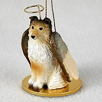 Shetland Sheepdog Angel Ornament