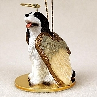 Springer Spaniel Angel Ornament