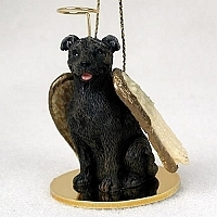 Staffordshire Bull Terrier Angel Ornament