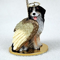Bernese Mountain Dog Angel Ornament