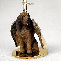 Bloodhound Angel Ornament