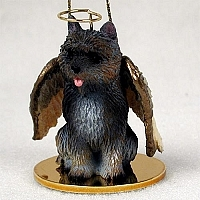 Cairn Terrier Angel Ornament