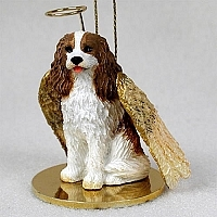 Cavalier King Charles Spaniel Angel Ornament