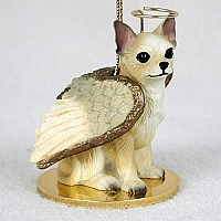 Chihuahua Angel Ornament