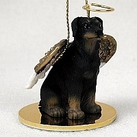 Doberman Pinscher Angel Ornament