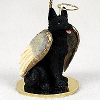 German Shepherd Angel Ornament