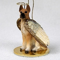 Great Dane Angel Ornament