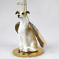 Greyhound Angel Ornament