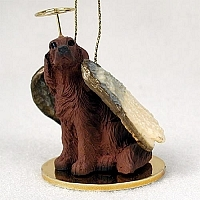 Irish Setter Angel Ornament