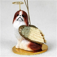 Japanese Chin Angel Ornament
