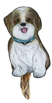 Cockapoo Wagging Tail Clock www.SaltyPaws.com