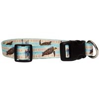Guy Harvey Smooth Sea Turtle Dog Collar SaltyPaws.com
