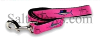 Guy Harvey Pink Grand Slam Swordfish Dog Lead SaltyPaws.com