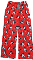 Boston Terrier Lounge Sleep Pajama Bottom Pants www.SaltyPaws.com