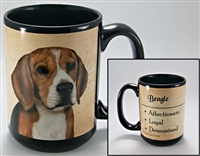 Beagle Coastal Coffee Mug Cup www.SaltyPaws.com