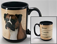 Boxer Uncropped Coastal Coffee Mug Cup www.SaltyPaws.com