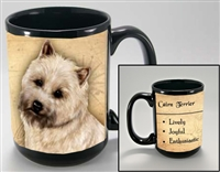 Cairn Terrier Coastal Coffee Mug Cup www.SaltyPaws.com