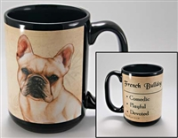 French Bulldog Coastal Coffee Mug Cup www.SaltyPaws.com