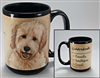 Goldendoodle Coastal Coffee Mug Cup www.SaltyPaws.com