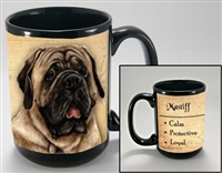 Mastiff Coastal Coffee Mug Cup www.SaltyPaws.com