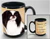 Japanese Chin Coastal Coffee Mug Cup www.SaltyPaws.com