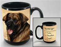 Leonberger Coastal Coffee Mug Cup www.SaltyPaws.com