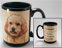 Cockapoo Coastal Coffee Mug Cup www.SaltyPaws.com