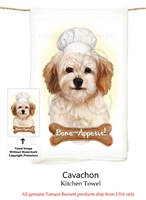 Cavachon Flour Sack Kitchen Towel