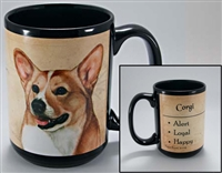 Corgi Coastal Coffee Mug Cup www.SaltyPaws.com