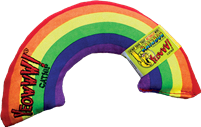 Cat Toy Catnip Yeowww Raimbow at SaltyPaws.com