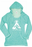 Dog is my Zen Hoodie Tunic, Clothing for Dog Lovers, www.saltypaws.com