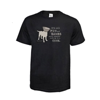 Its All FUN and GAMES until someone ends up in a CONE Tee Unisex,Clothing for Dog Lovers