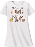 """Dog Mom"" Sleep Shirt at www.saltypaws.com"