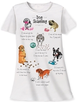 """Dog Shaming"" Sleepshirt at www.saltypaws.com"