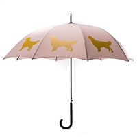 Golden Retriever Umbrella at SaltyPaws.com