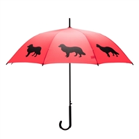 Border Collie Umbrella at SaltyPaws.com