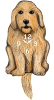 Labradoodle Wagging Tail Clock www.SaltyPaws.com