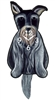 Schnauzer Wagging Tail Clock www.SaltyPaws.com