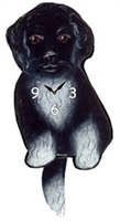 Porty Wagging Tail Clock www.SaltyPaws.com