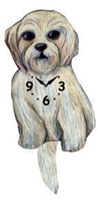 Shipoo Wagging Tail Clock www.SaltyPaws.com