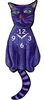 Blue Cat Wagging Tail Clock www.SaltyPaws.com