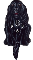 Cocker Spaniel Wagging Tail Clock www.SaltyPaws.com